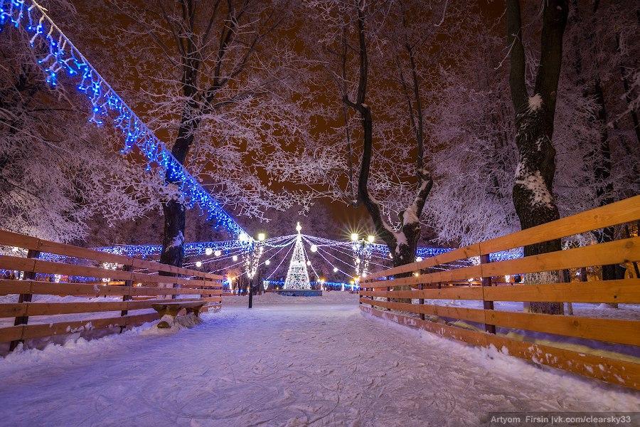 Зимняя ночь во Владимире 10