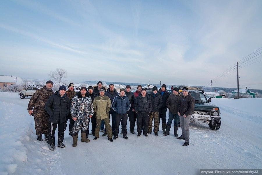 Зимняя покатуха от 4WD Club Владимир 01