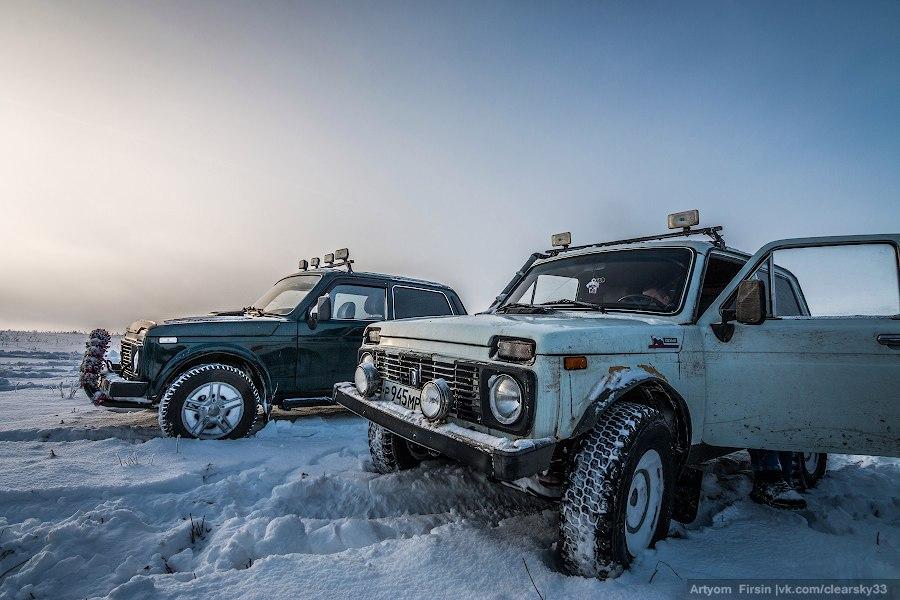 Зимняя покатуха от 4WD Club Владимир 02