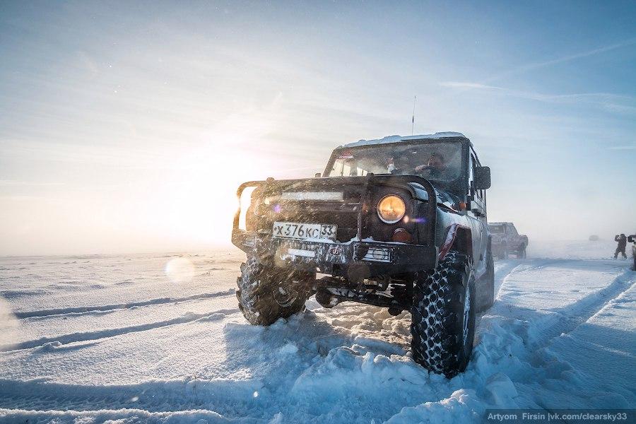 Зимняя покатуха от 4WD Club Владимир 03