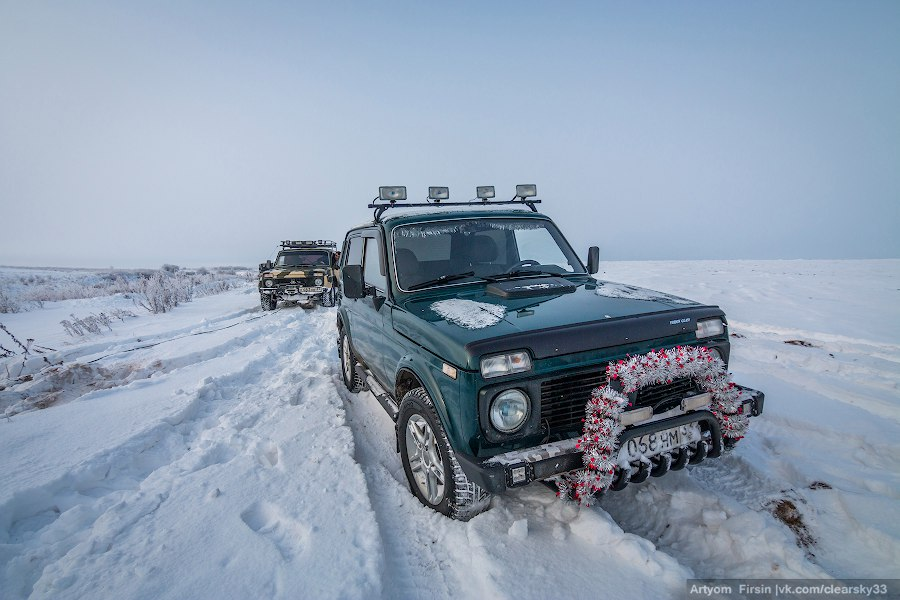 Зимняя покатуха от 4WD Club Владимир 04