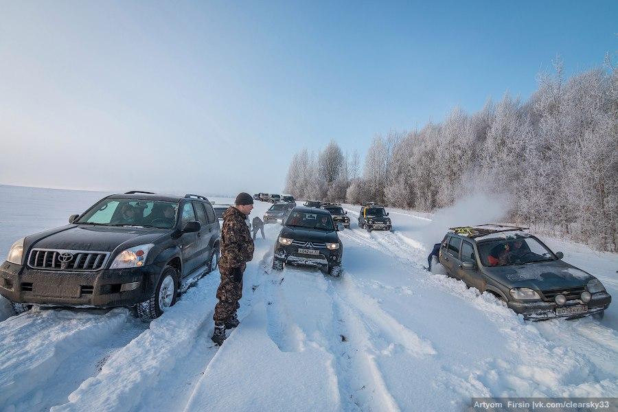 Зимняя покатуха от 4WD Club Владимир 05