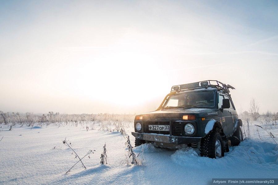 Зимняя покатуха от 4WD Club Владимир 06