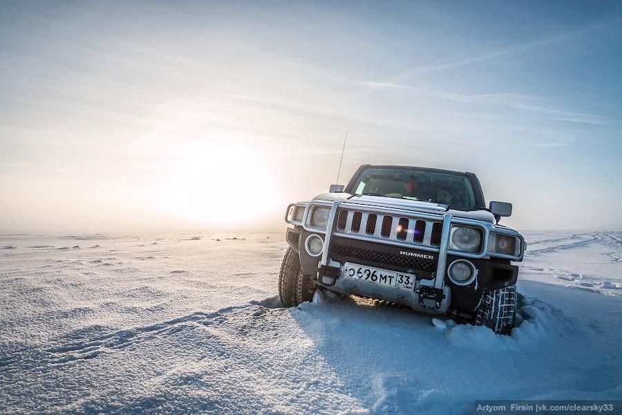 Зимняя покатуха от 4WD Club Владимир 08
