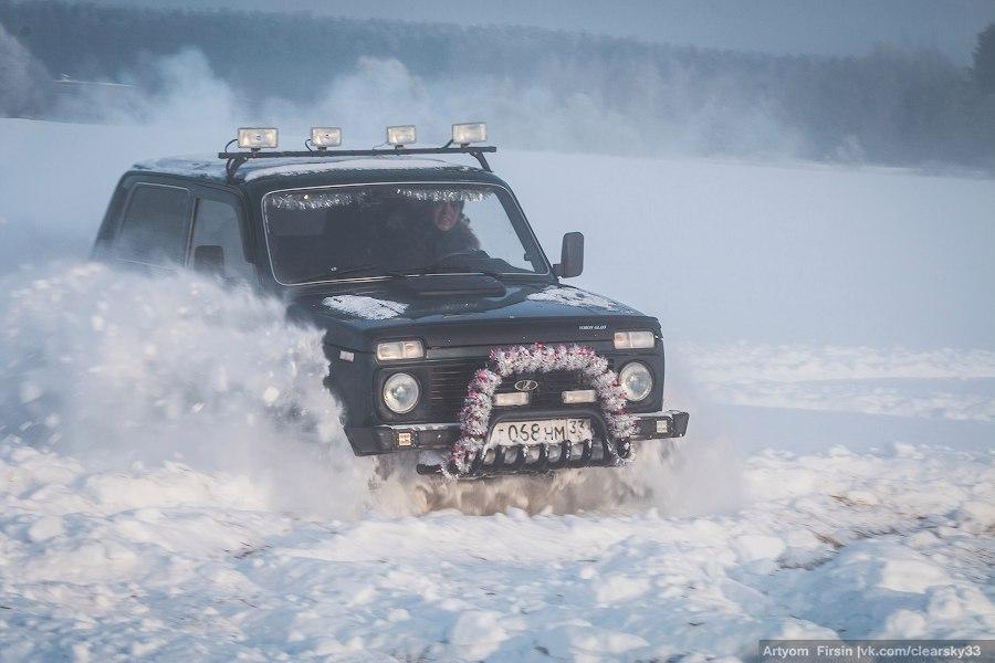 Зимняя покатуха от 4WD Club Владимир 09