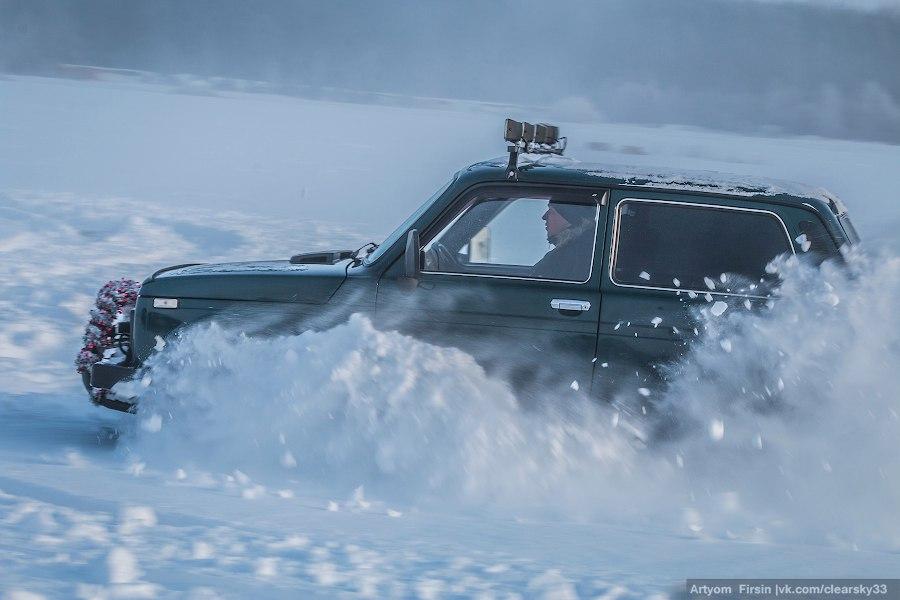 Зимняя покатуха от 4WD Club Владимир 10