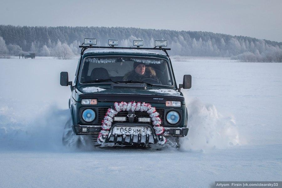 Зимняя покатуха от 4WD Club Владимир 11
