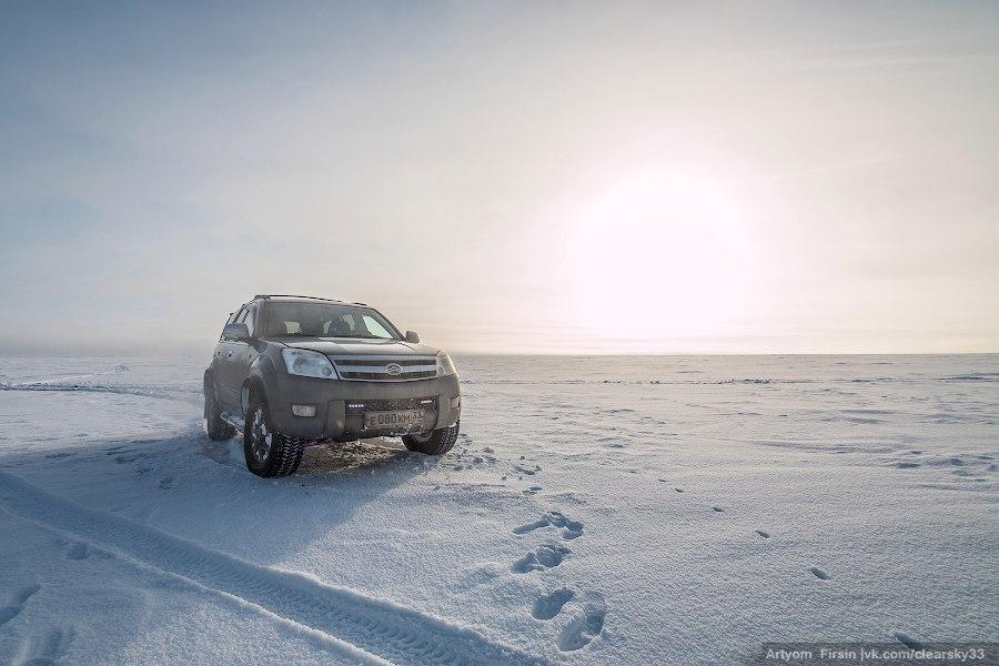 Зимняя покатуха от 4WD Club Владимир 14