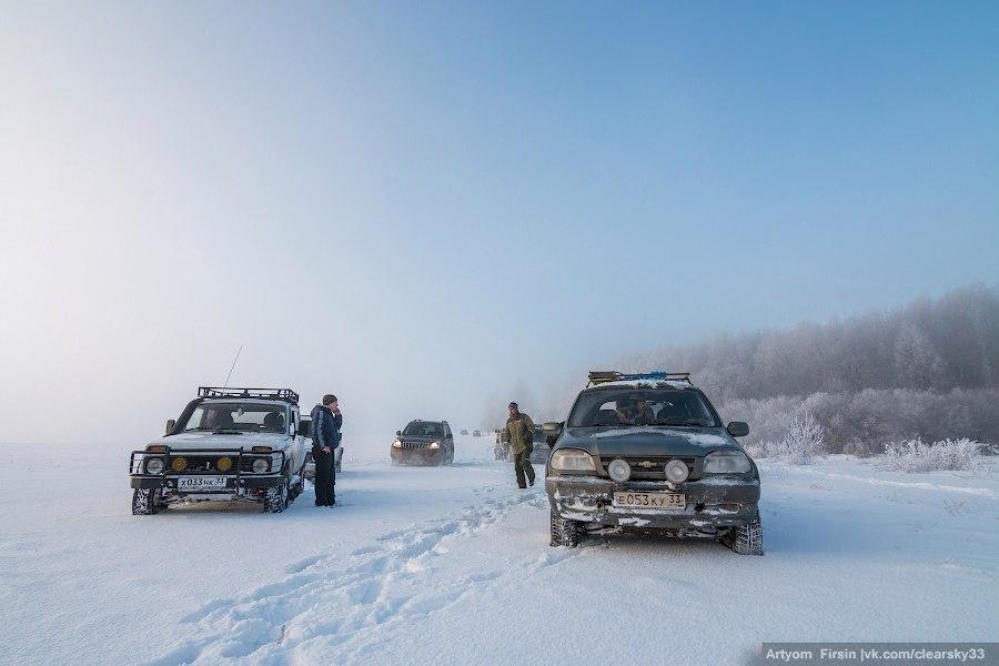 Зимняя покатуха от 4WD Club Владимир 15