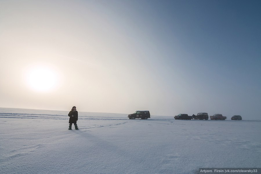 Зимняя покатуха от 4WD Club Владимир 16