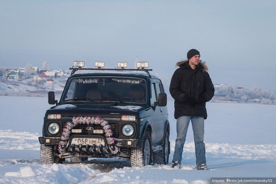 Зимняя покатуха от 4WD Club Владимир 17