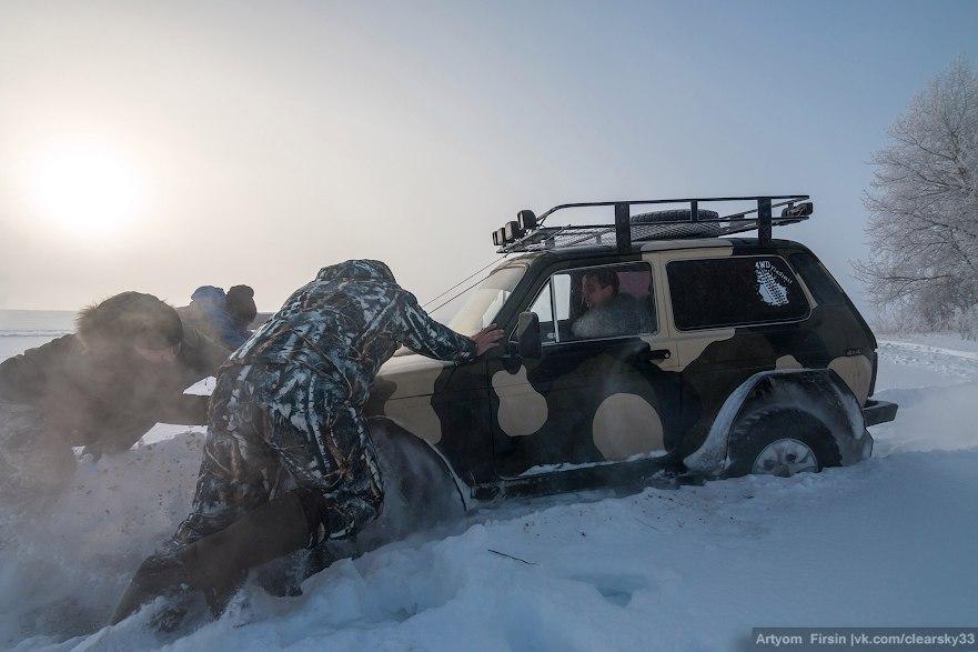 Зимняя покатуха от 4WD Club Владимир 18