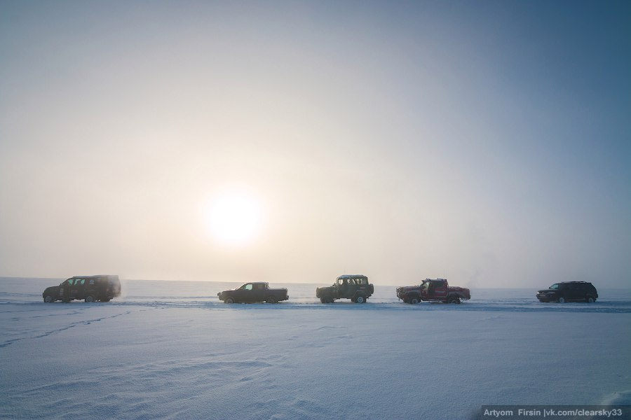 Зимняя покатуха от 4WD Club Владимир 19