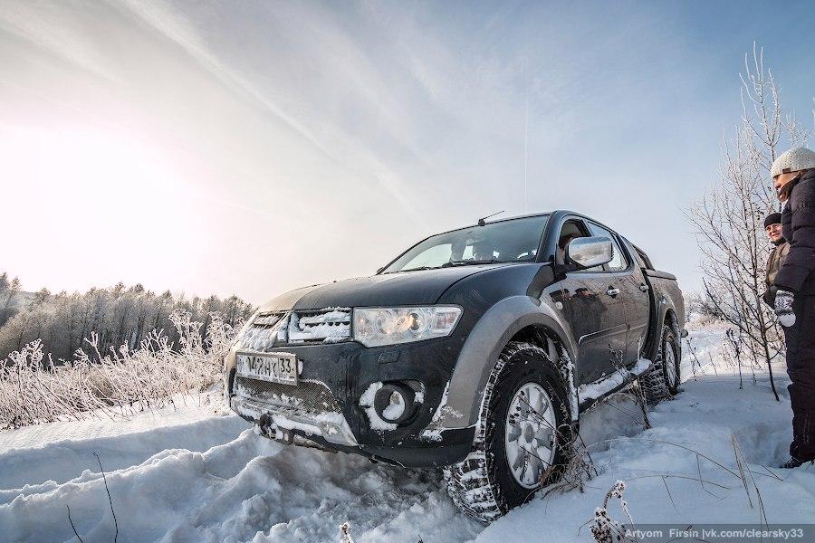 Зимняя покатуха от 4WD Club Владимир 22