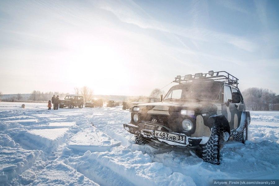 Зимняя покатуха от 4WD Club Владимир 23