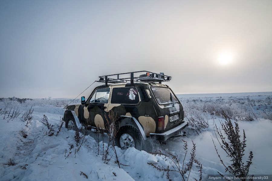 Зимняя покатуха от 4WD Club Владимир 24