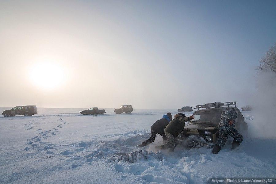 Зимняя покатуха от 4WD Club Владимир 25