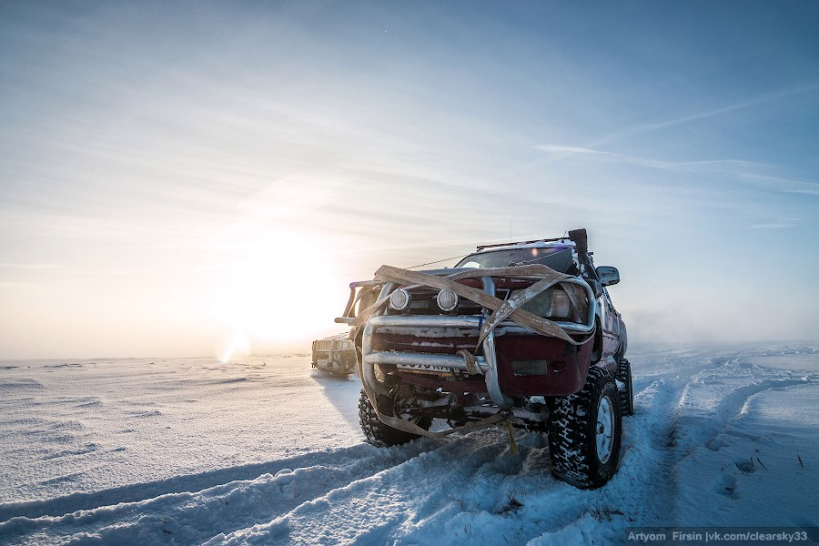 Зимняя покатуха от 4WD Club Владимир 26
