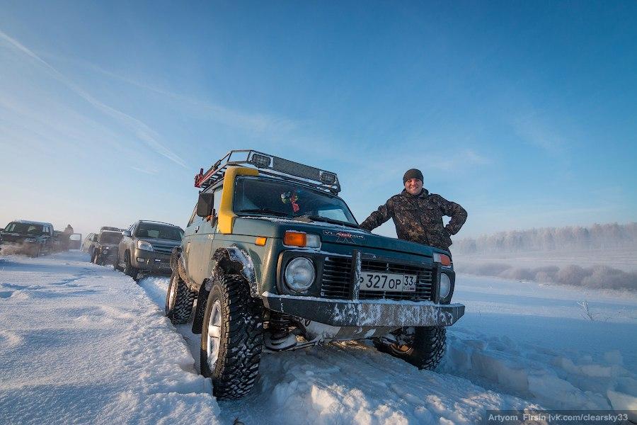 Зимняя покатуха от 4WD Club Владимир 27