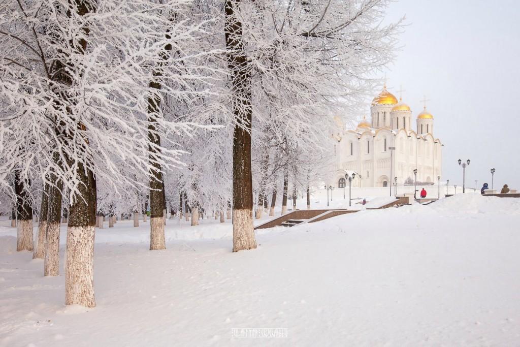Иней во Владимире 01