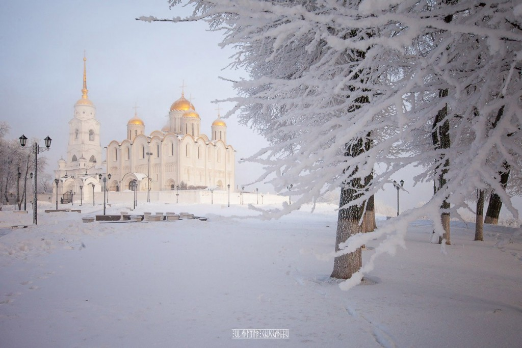 Иней во Владимире 03
