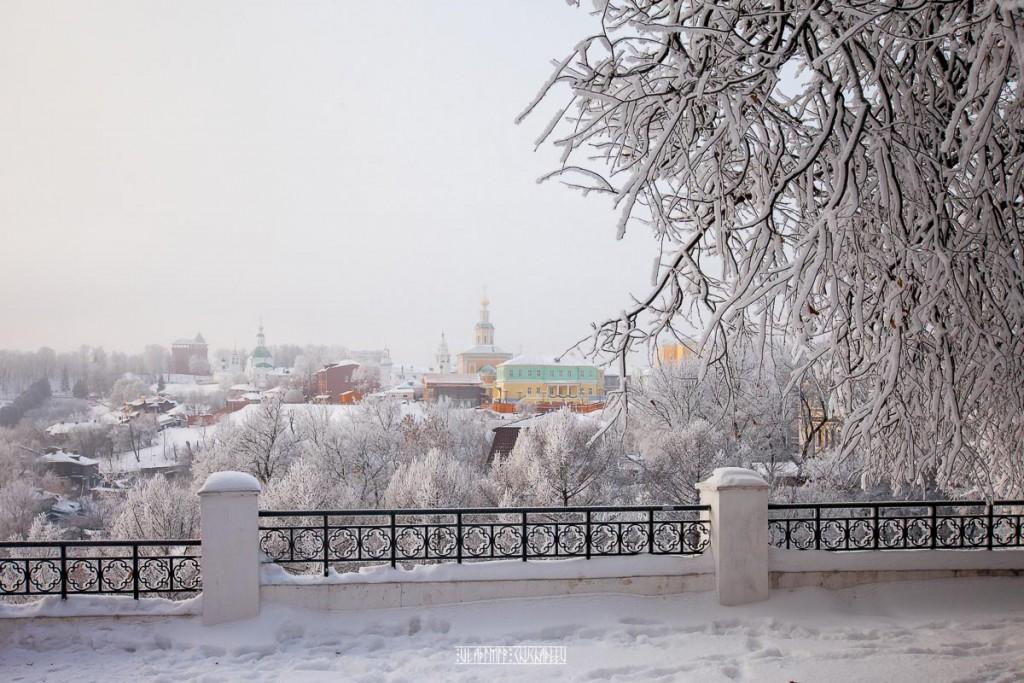 Иней во Владимире 04
