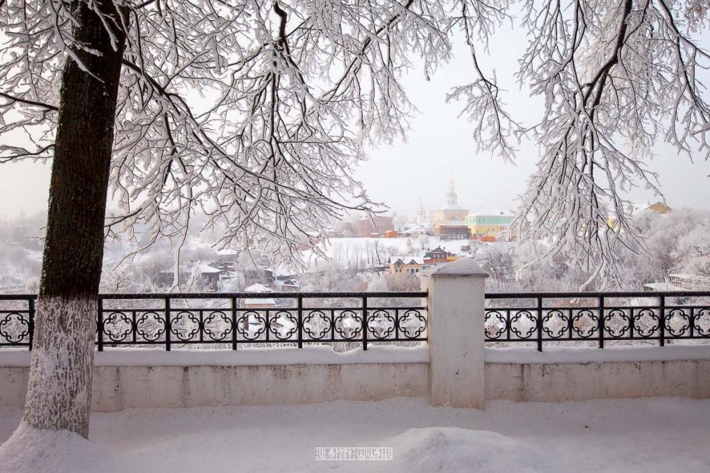 Иней во Владимире 05
