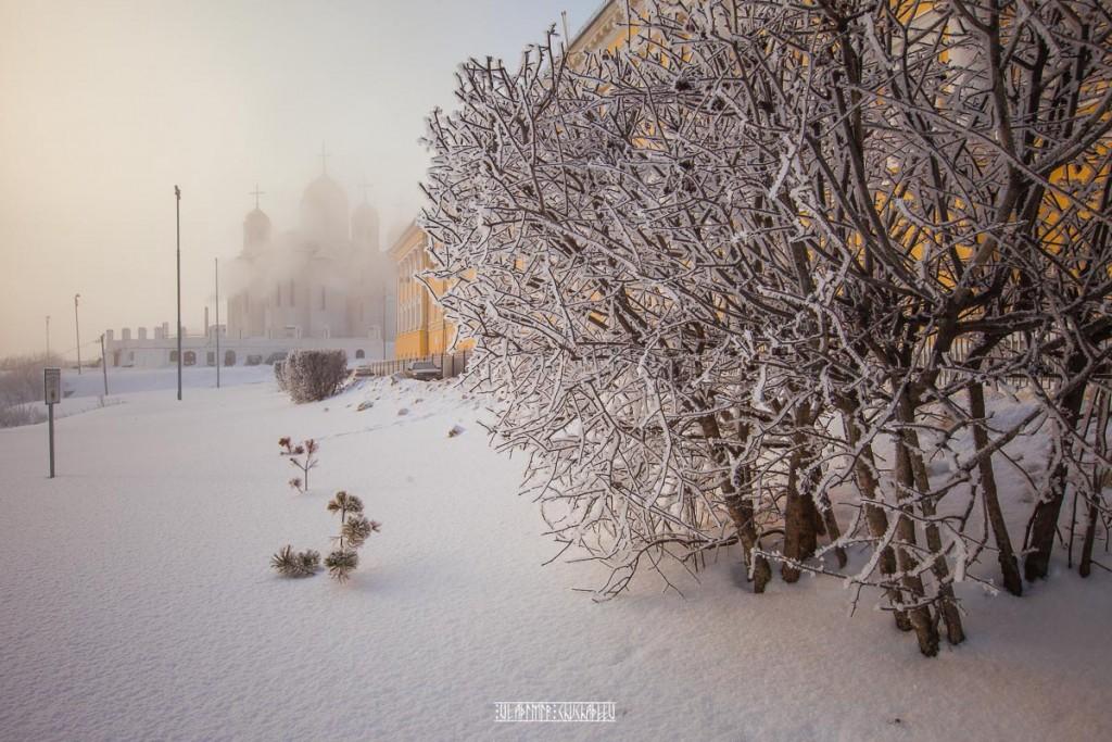 Иней во Владимире 06