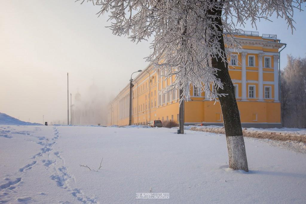 Иней во Владимире 07