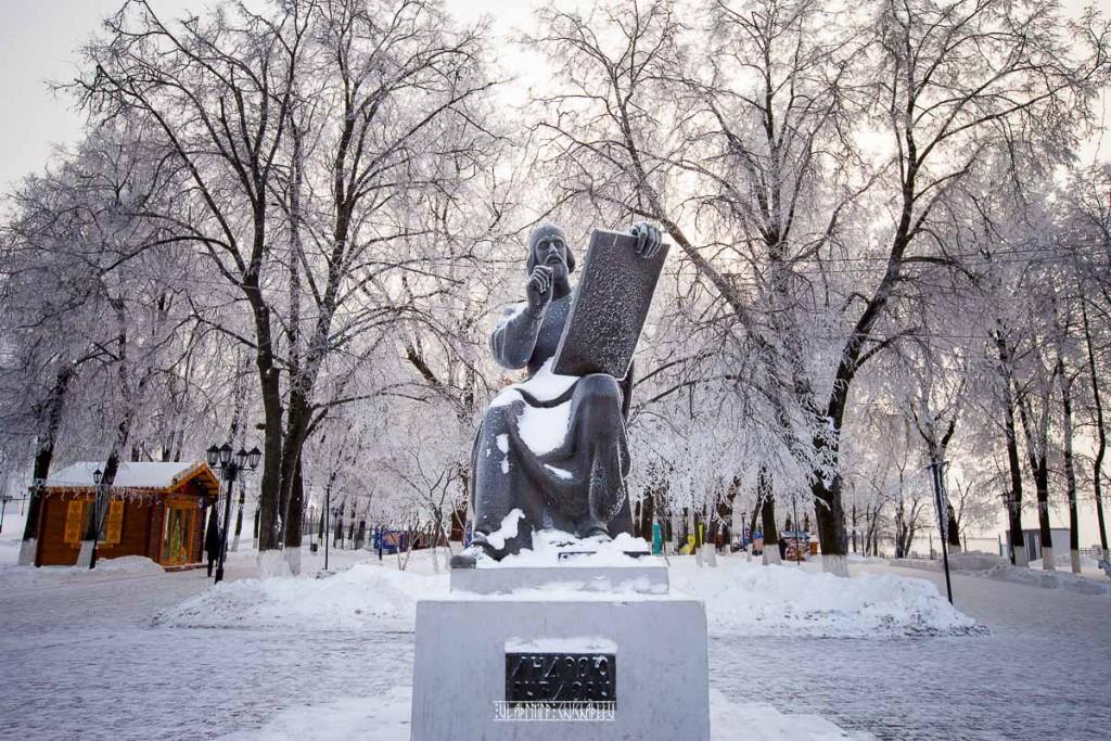 Иней во Владимире 10