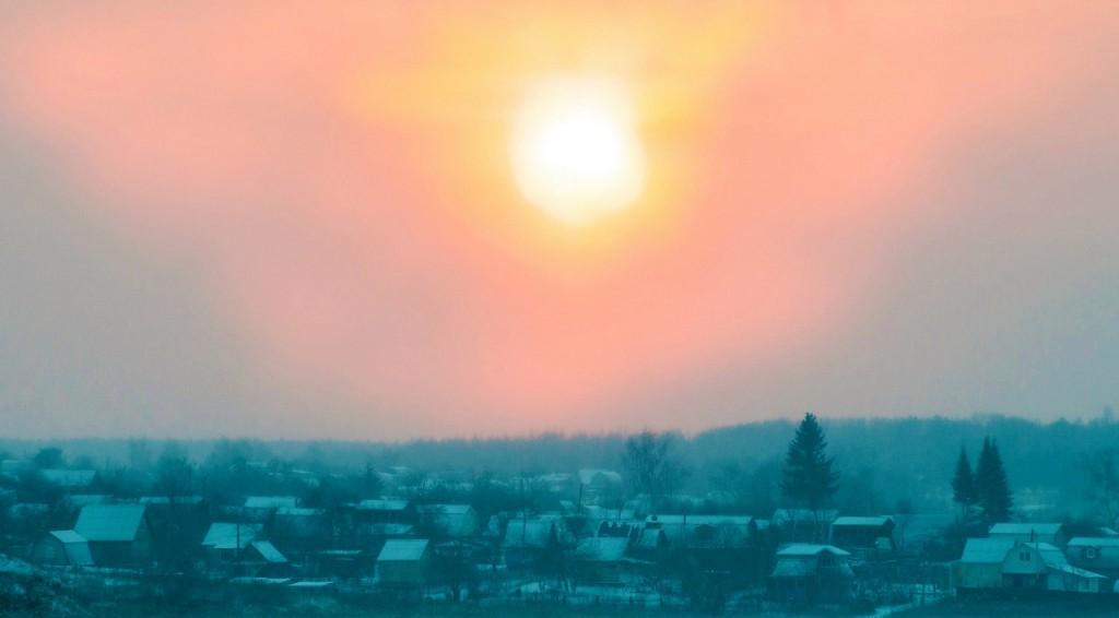 История одного январского заката от Бориса Пучкова 03