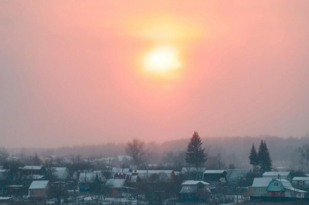 История одного январского заката от Бориса Пучкова 04