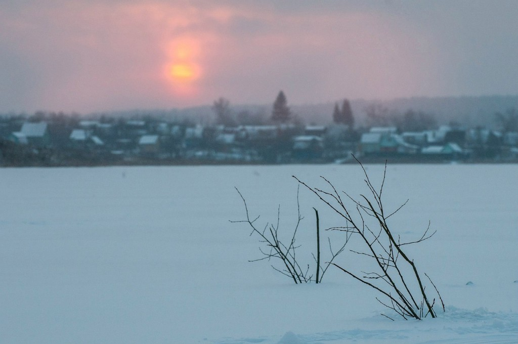 История одного январского заката от Бориса Пучкова 06