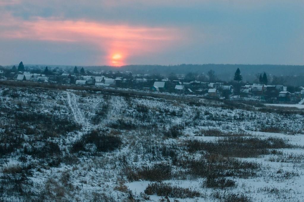 История одного январского заката от Бориса Пучкова 07
