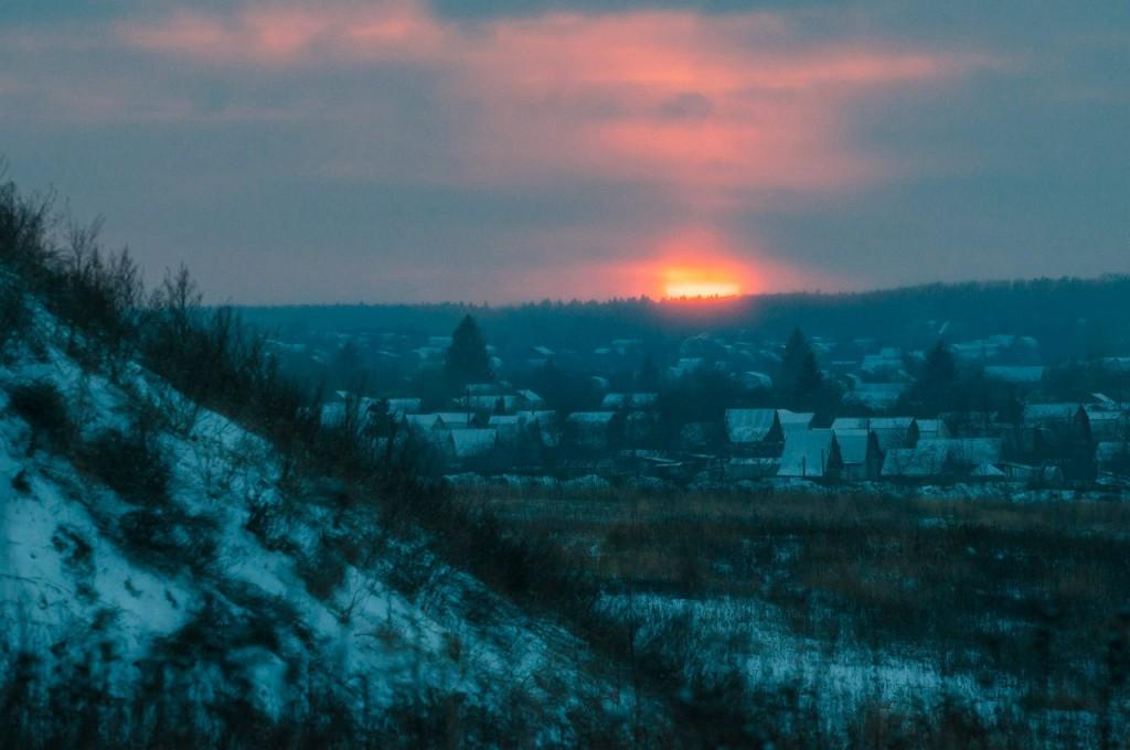 История одного январского заката от Бориса Пучкова 08