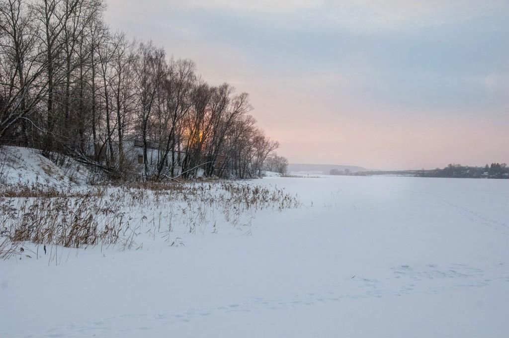 История одного январского заката от Бориса Пучкова 12