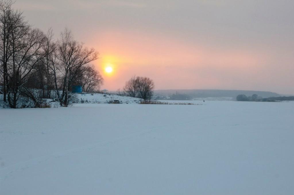 История одного январского заката от Бориса Пучкова 13