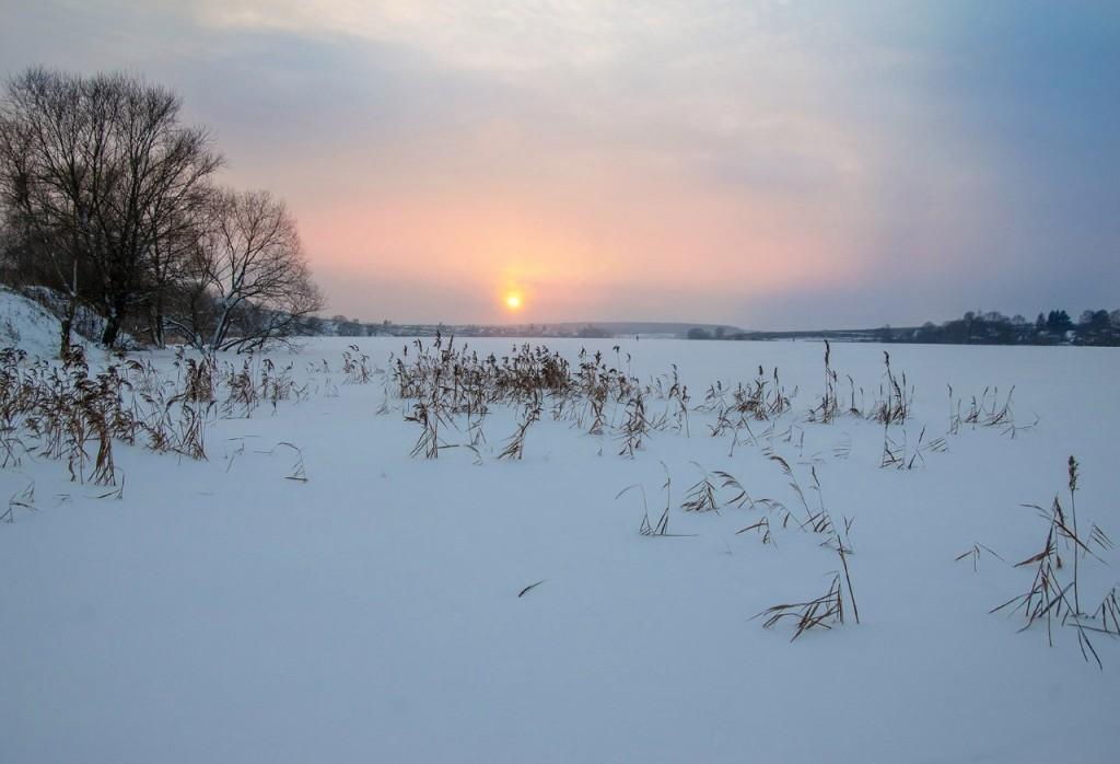 История одного январского заката от Бориса Пучкова 14