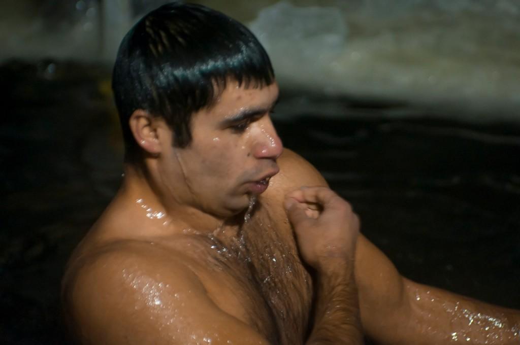 Крещенские купания в п. Введенский (Петушинский район) 01