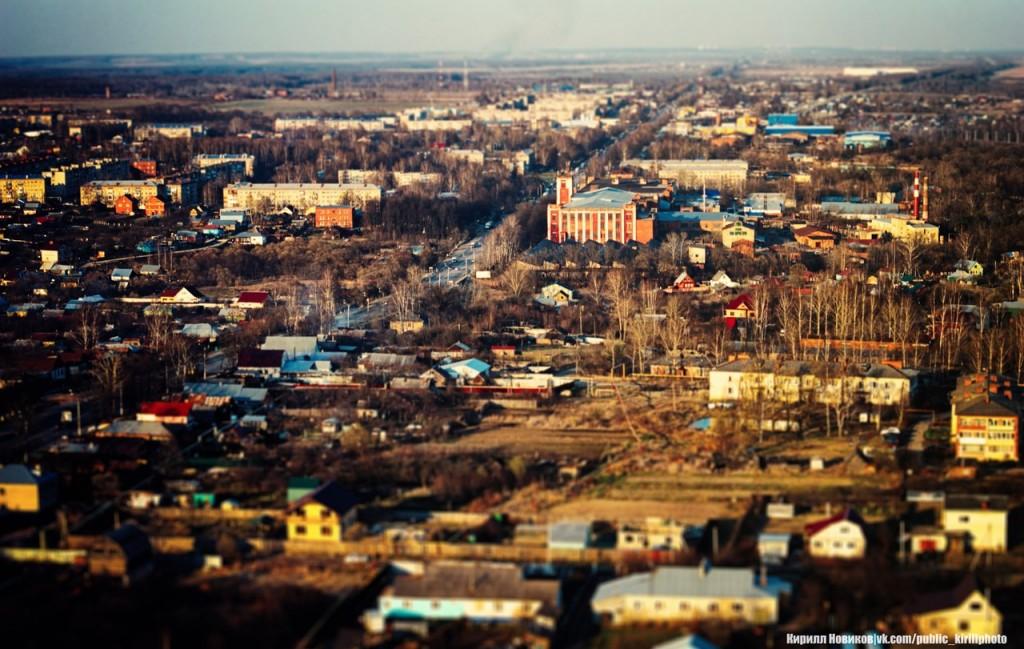 Лакинск с высоты от Кирилла Новикова