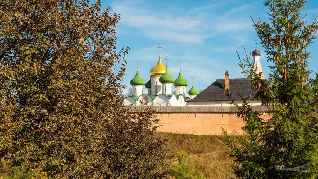 Монастырский пейзаж Суздаля от Александра Каменского