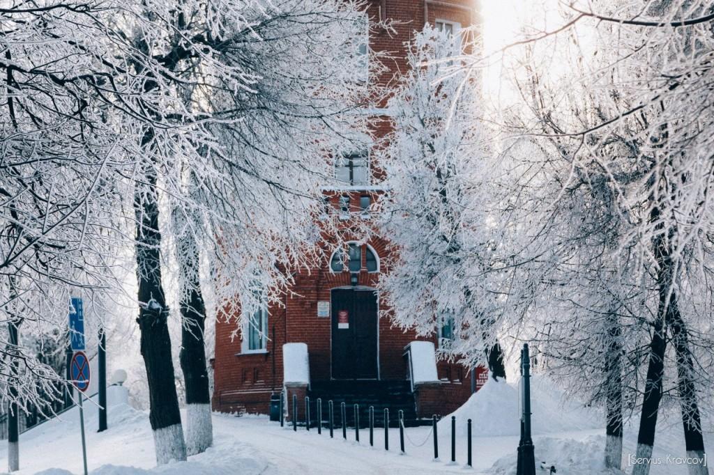 Мороз и солнце во Владимире 01