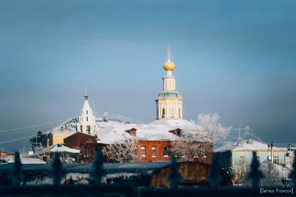 Мороз и солнце во Владимире 06