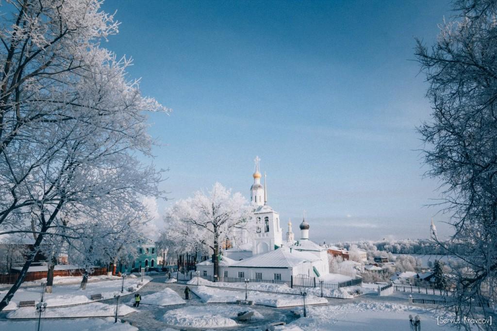 Мороз и солнце во Владимире 09