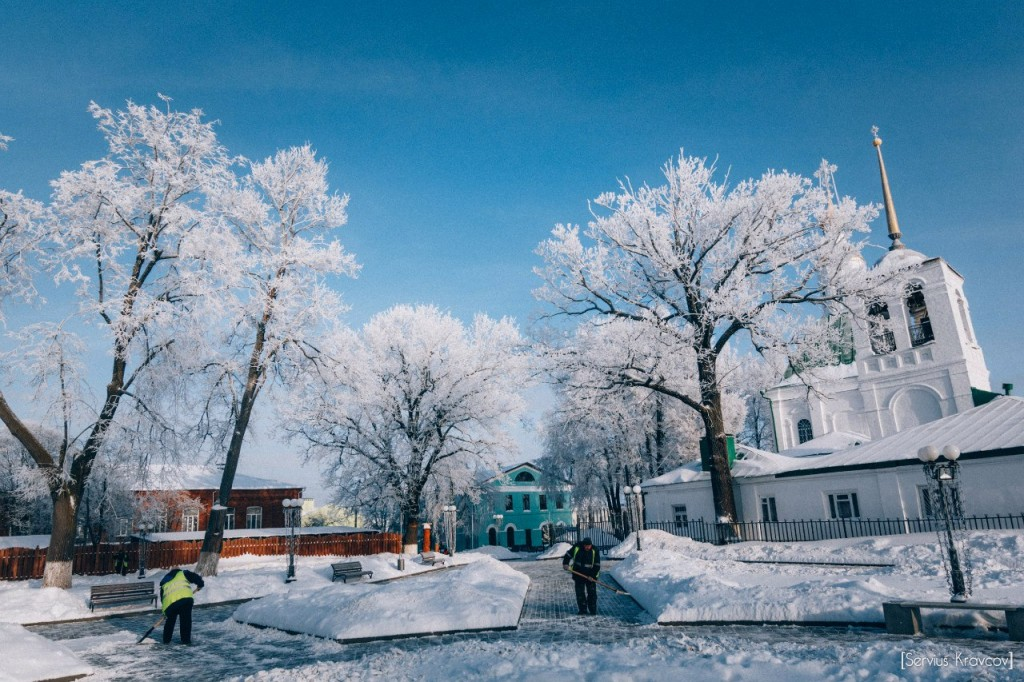 Мороз и солнце во Владимире 10