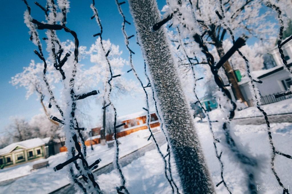 Мороз и солнце во Владимире 13