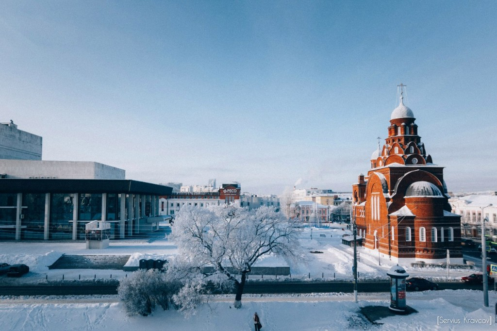 Мороз и солнце во Владимире 14
