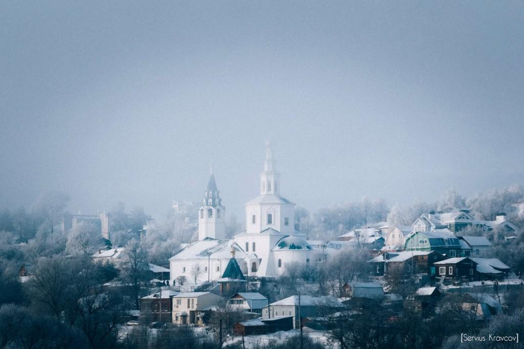 Мороз и солнце во Владимире 19