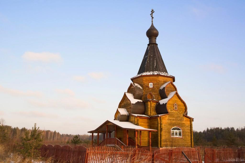 Неизвестная церковь в деревне Ямки Вязниковского р-на 01