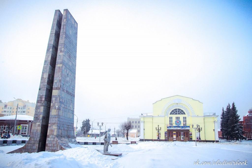 Новогодний Муром от Книги-журнала Владимирской области 08